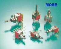 Sub Miniature Toggle switch, T Series